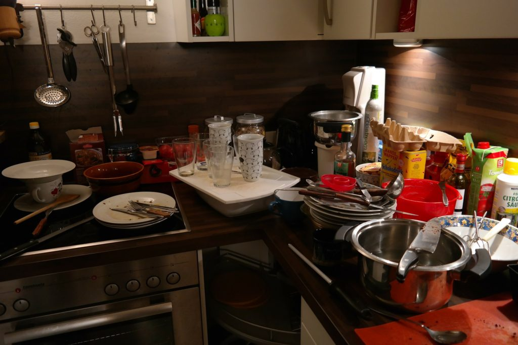 Bałagan w kuchni