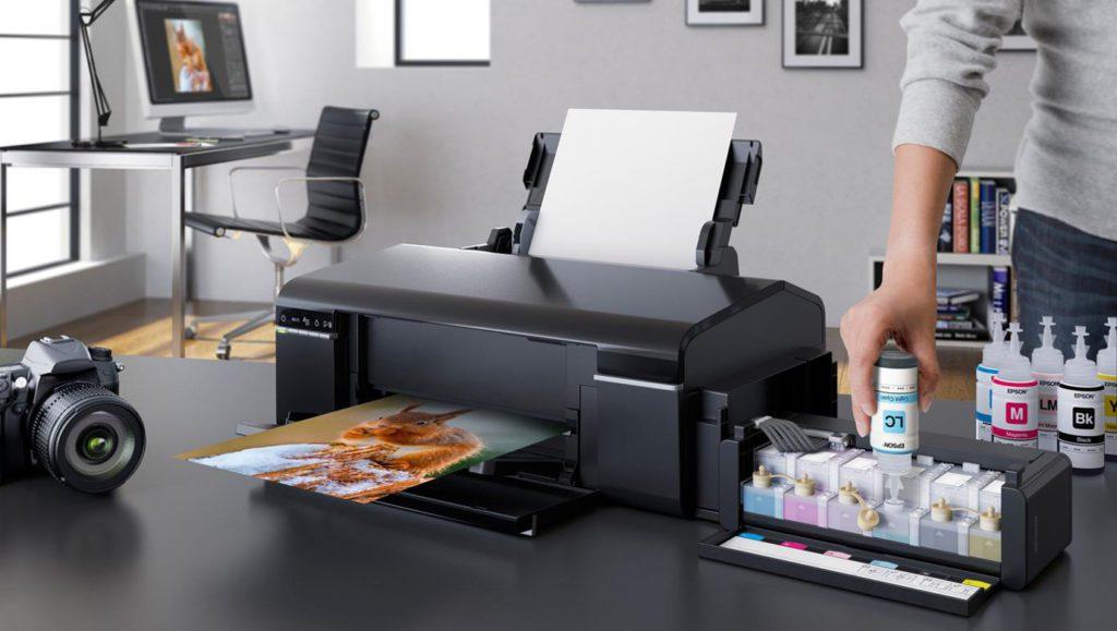 laserowa atramentowa drukarka geex