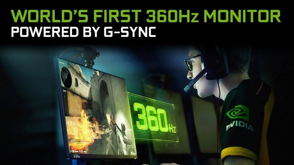 grafika przedstawiająca pierwszy monitor 360 Hz