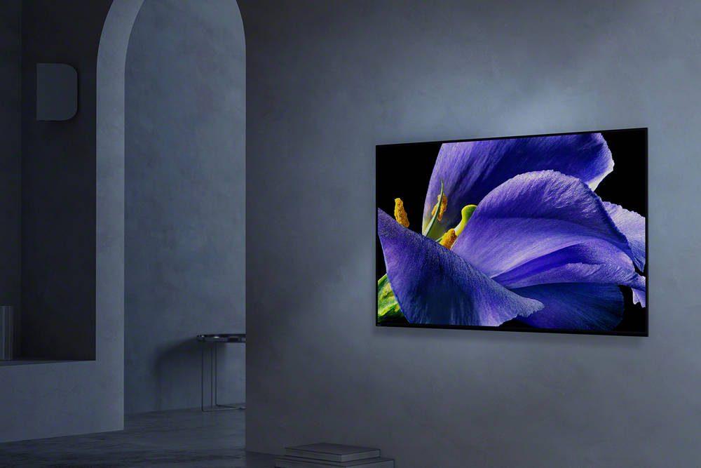 telewizor OLED marki Sony