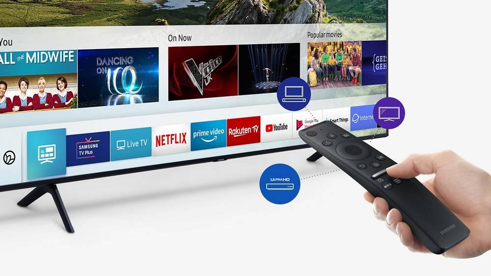 tizen system telewizorów marki Samsung