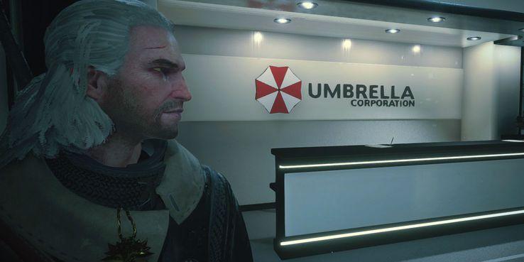 Geralt w Resident Evil