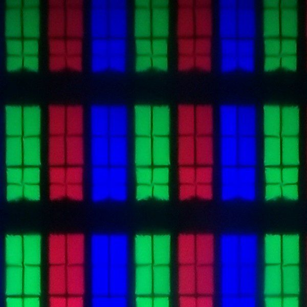 wygląd pikseli matrycy telewizora sony 49xg8396