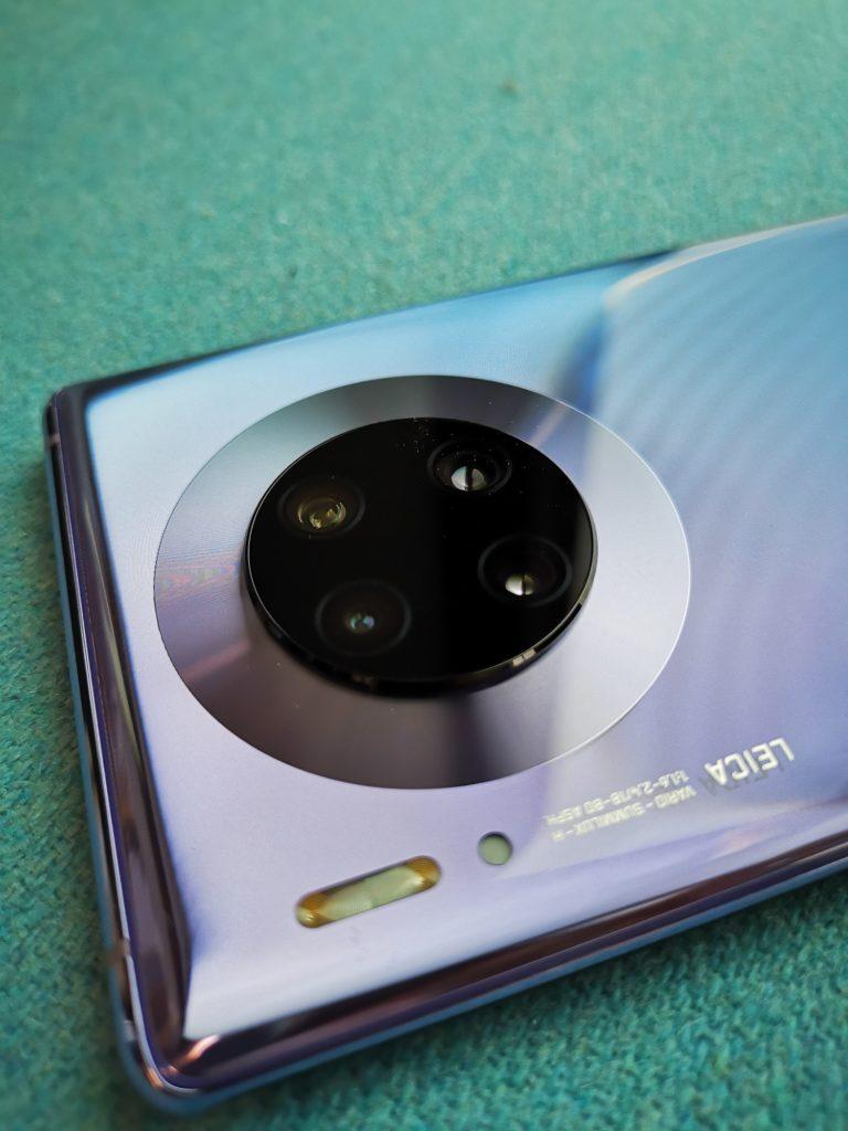 Poczwórny aparat Huawei Mate 30 Pro