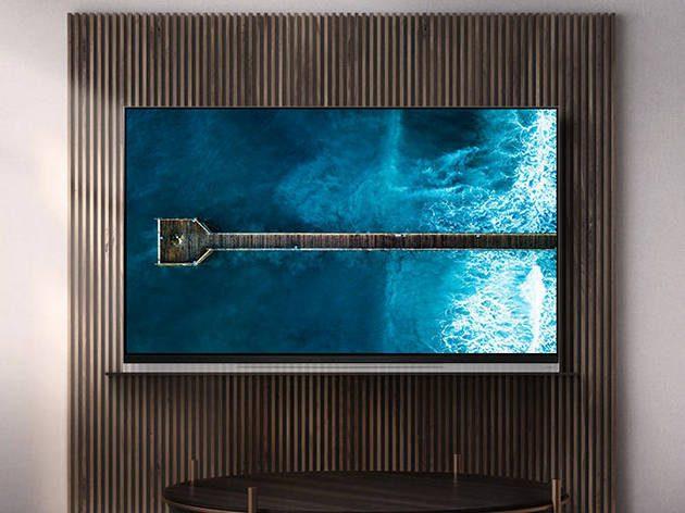 LG OLED55E9 w salonie