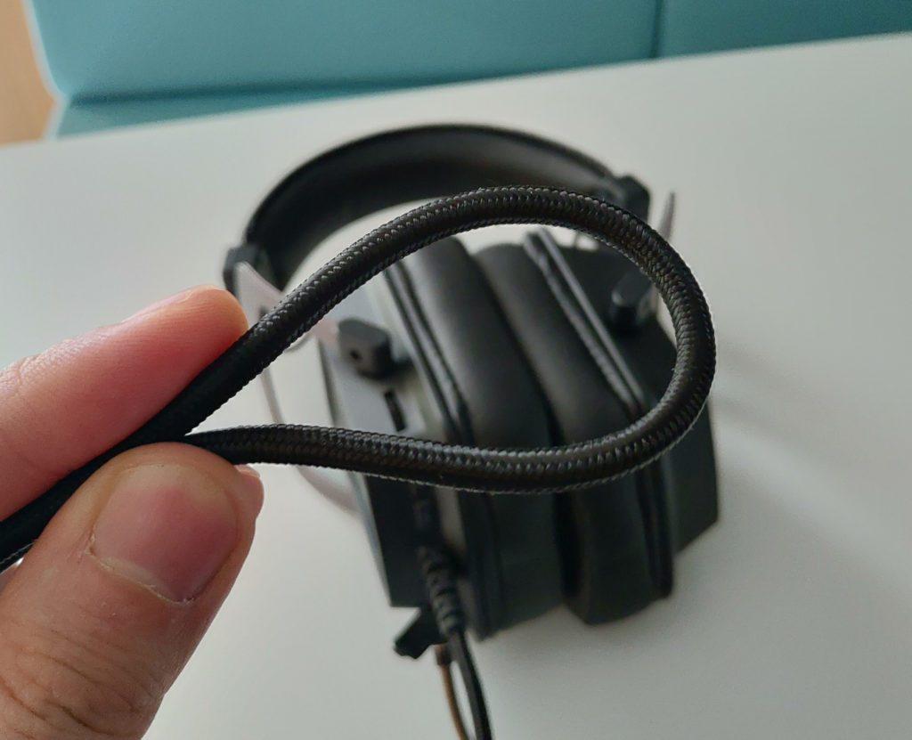 Patriot Viper V380 przewód headsetu