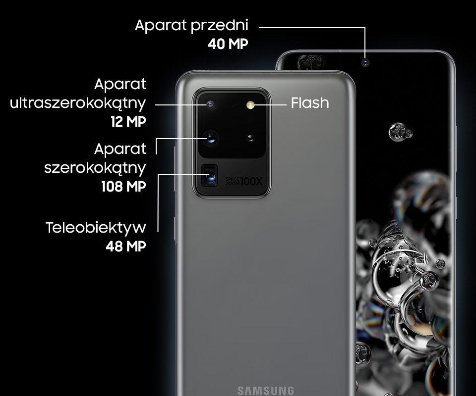 Aparaty Samsung Galaxy S20 Ultra