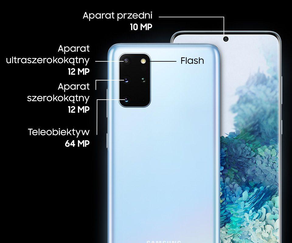 Aparat Samsung Galaxy S20+