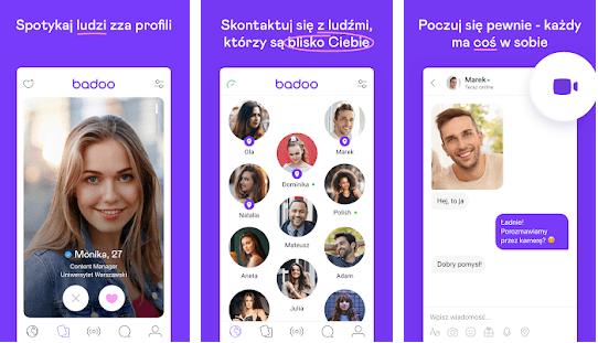 badoo aplikacja do randkowania w sieci