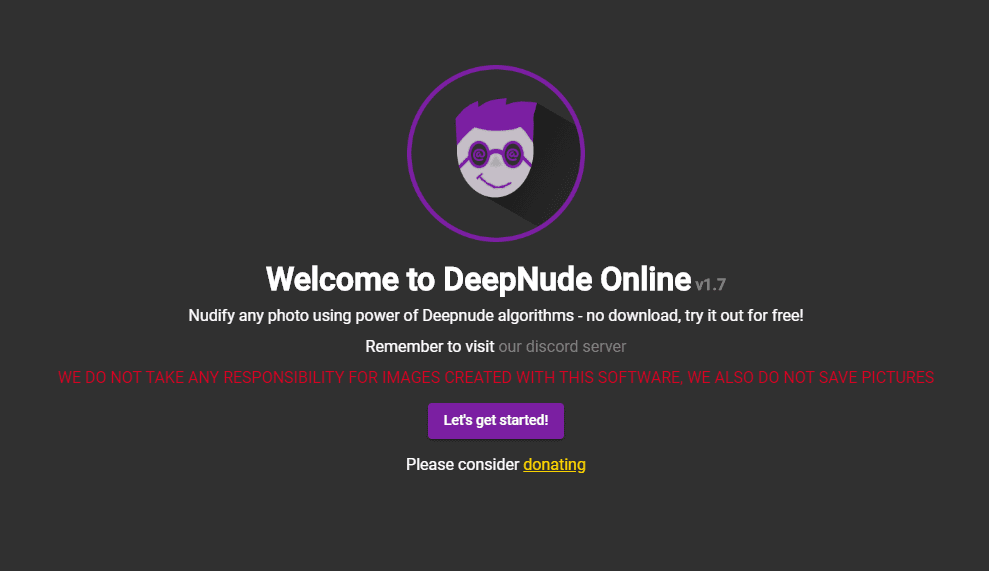 deep nude search engine version