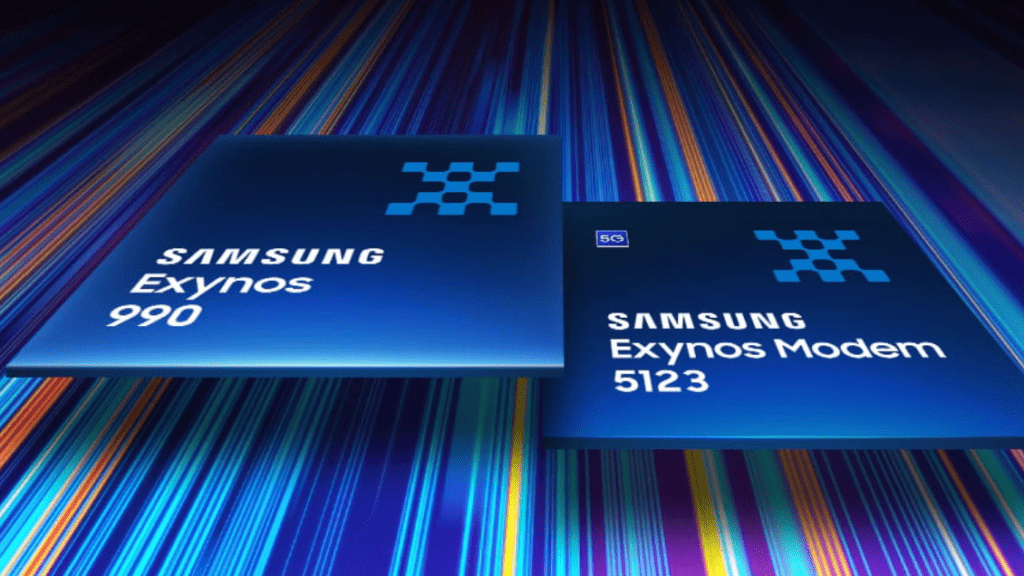 exynos 990 modem 5G