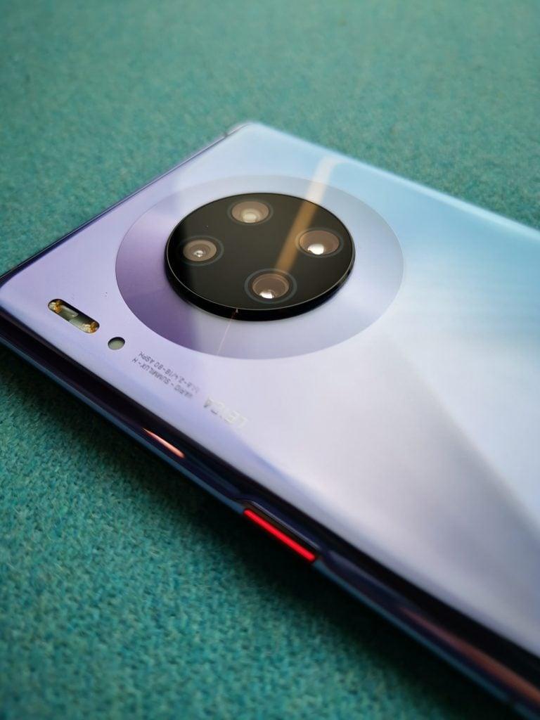 Huawei Mate 30 Pro aparaty