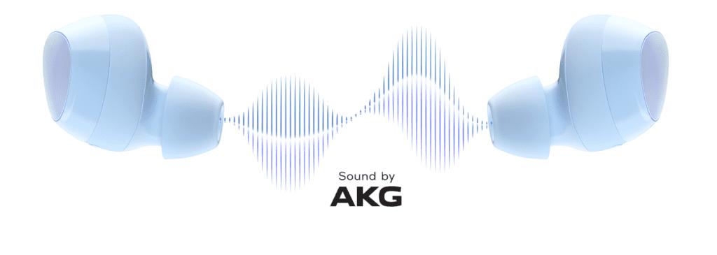 galaxy buds+ głośniki AKG Geex