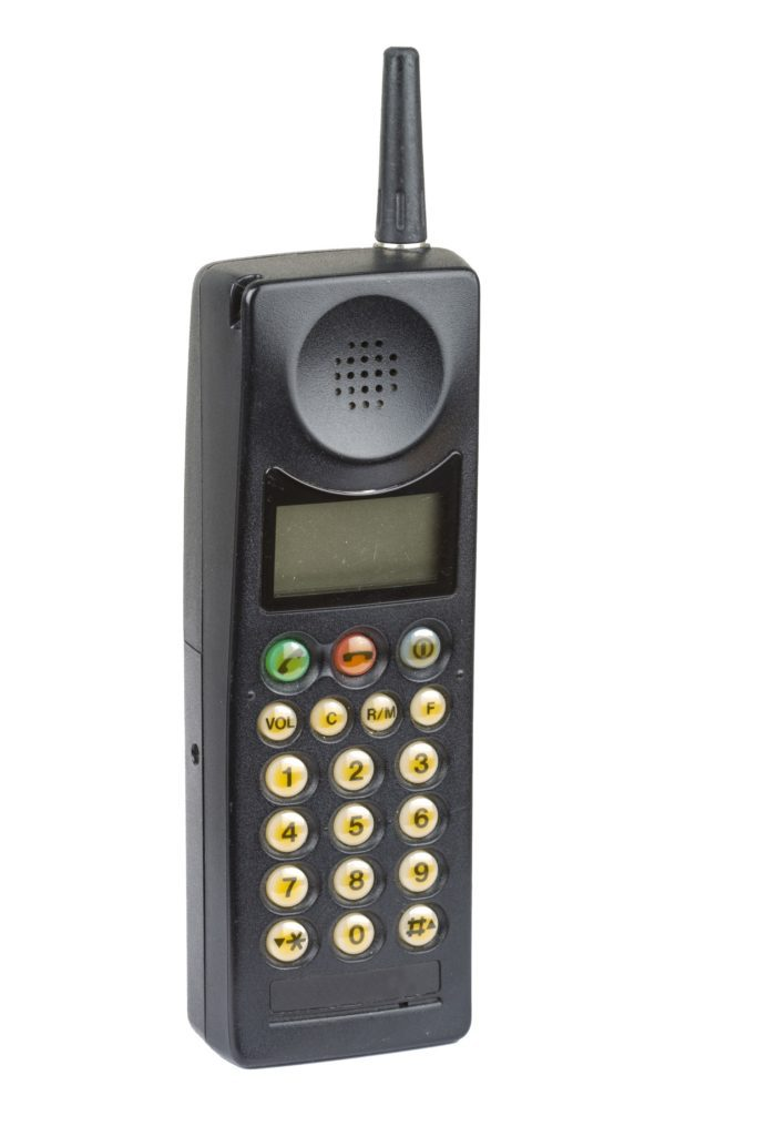 klasyczny telefon komórkowy