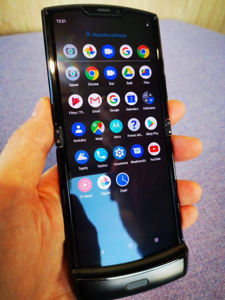 Motorola Razr matryca HD OLED