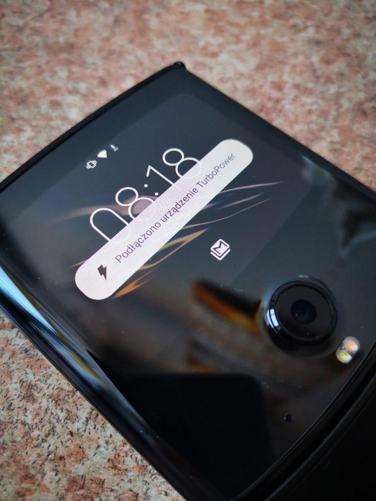 Motorola Razr ładowanie Turbo
