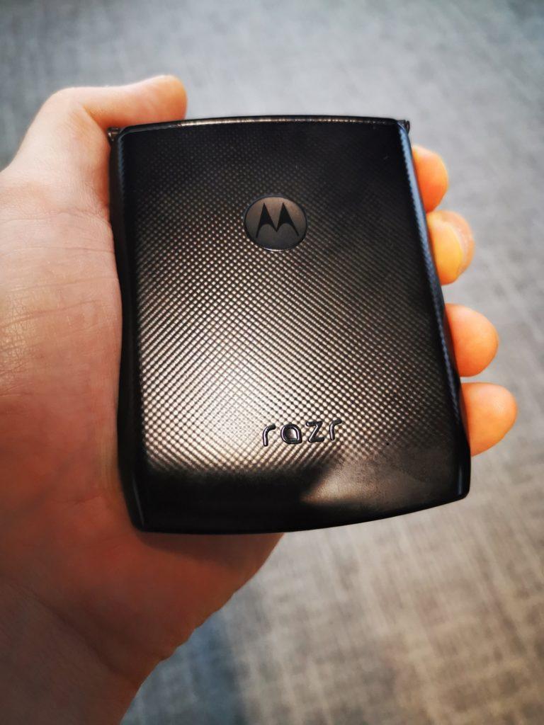 Motorola Razr poręczna konstrukcja