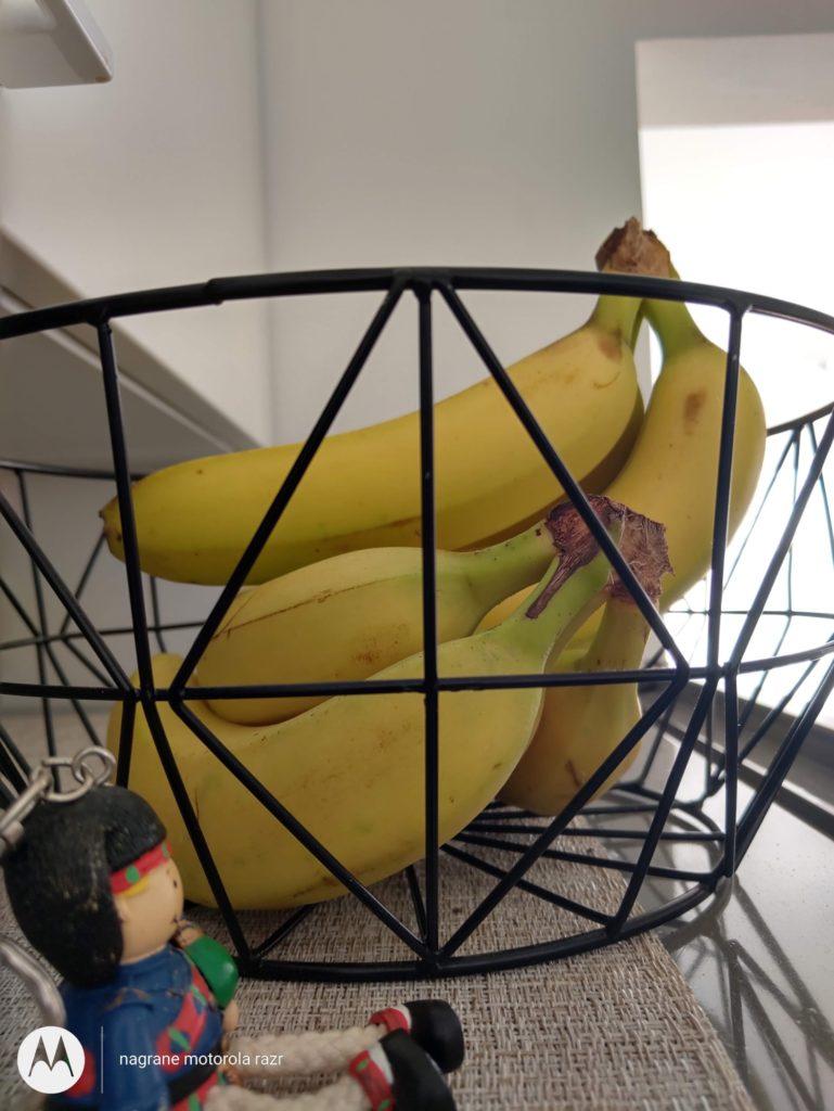 Motorola Razr zdjęcie banana