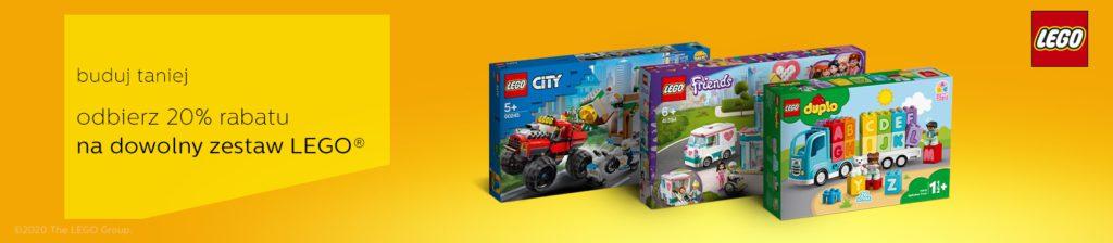 LEGO promocja -20% Geex al.to
