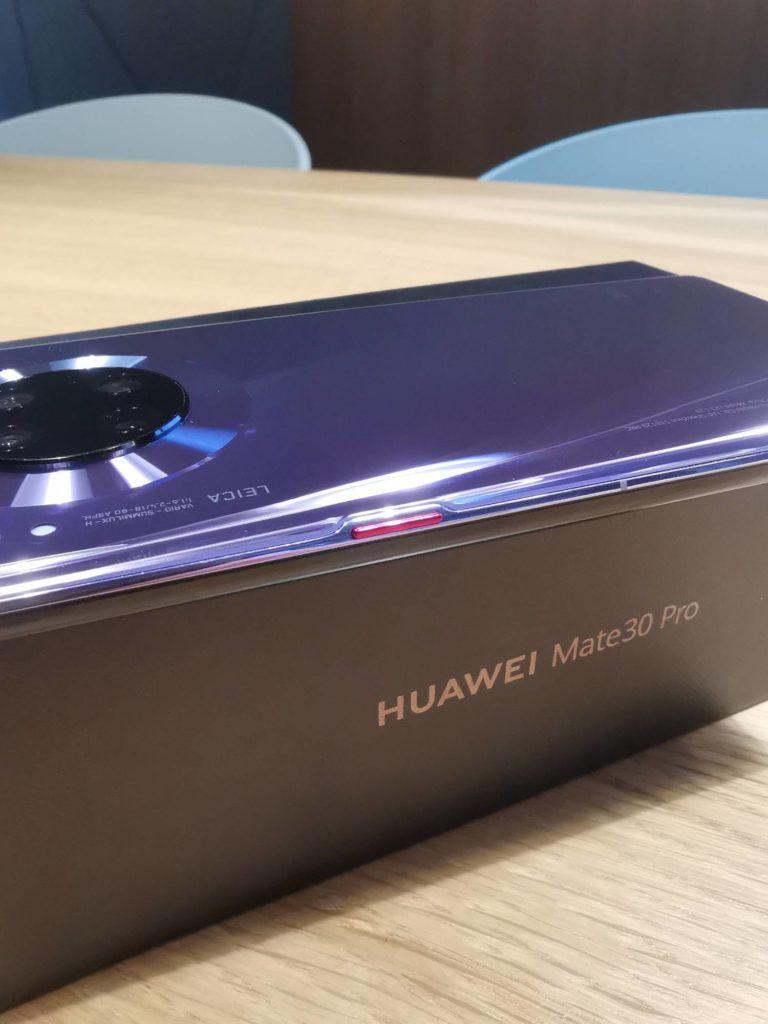 Huawei Mate 30 Pro przycisk fizyczny