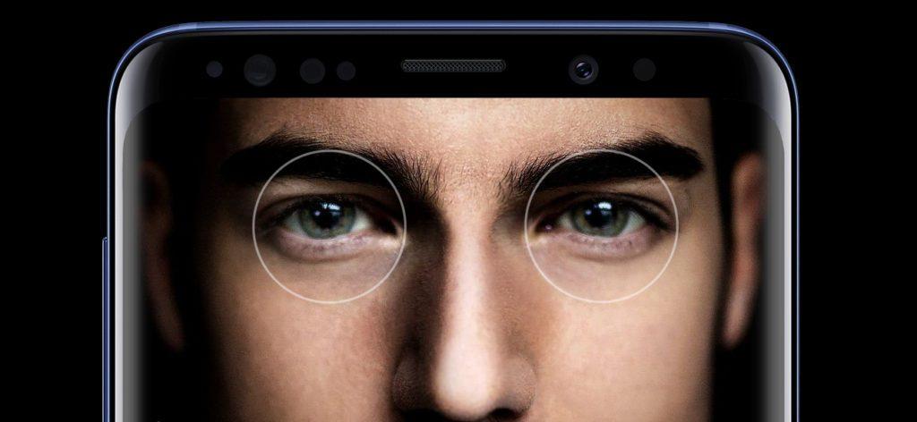 Skaner tęczówki Galaxy S9