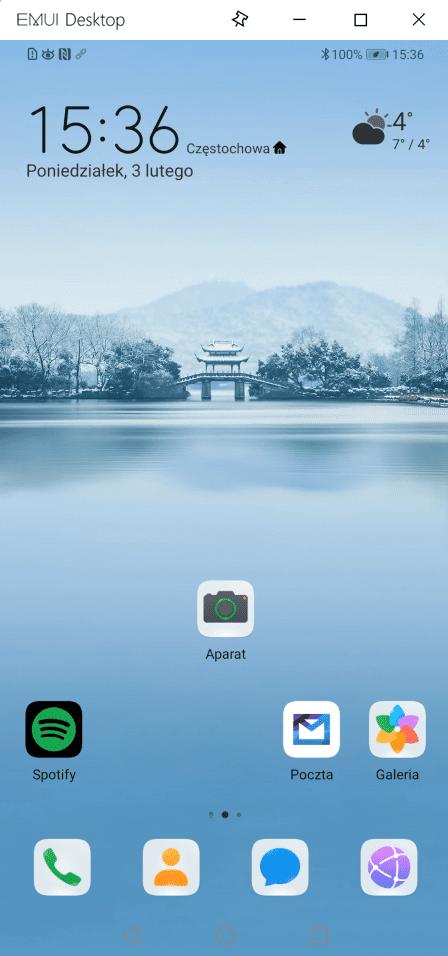 ekran telefonu w komputerze