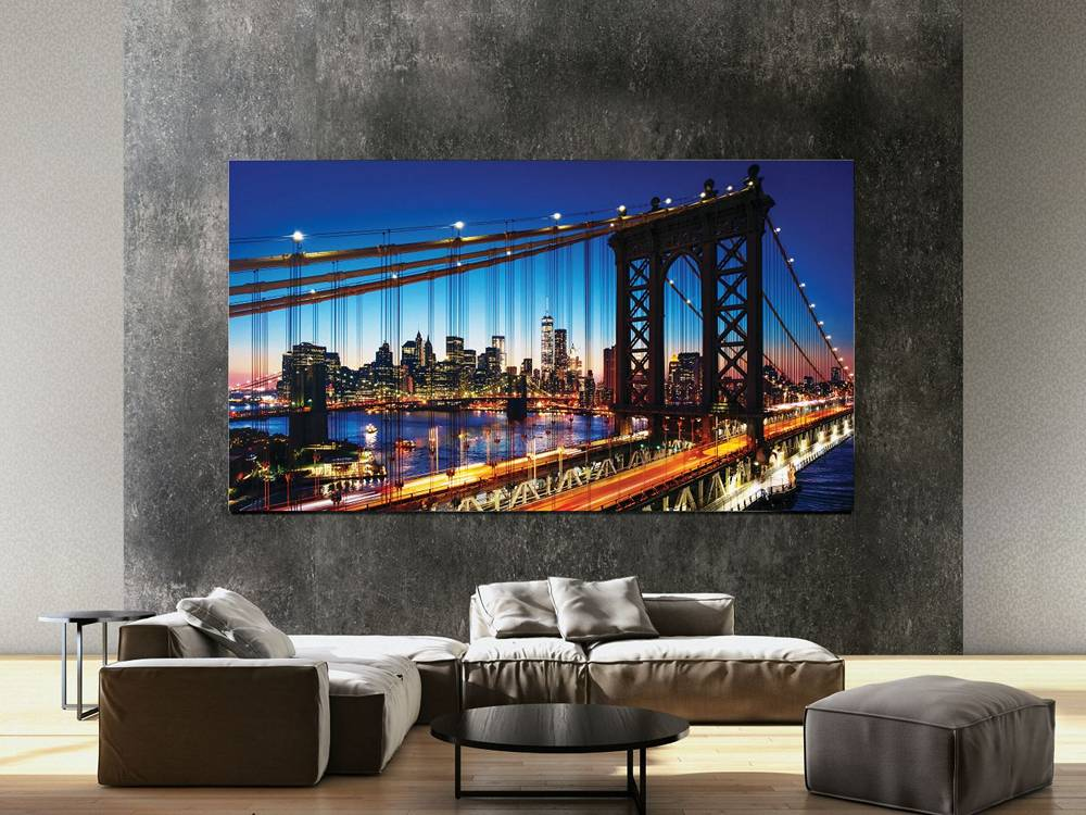 telewizor The Wall od Samsunga - microled