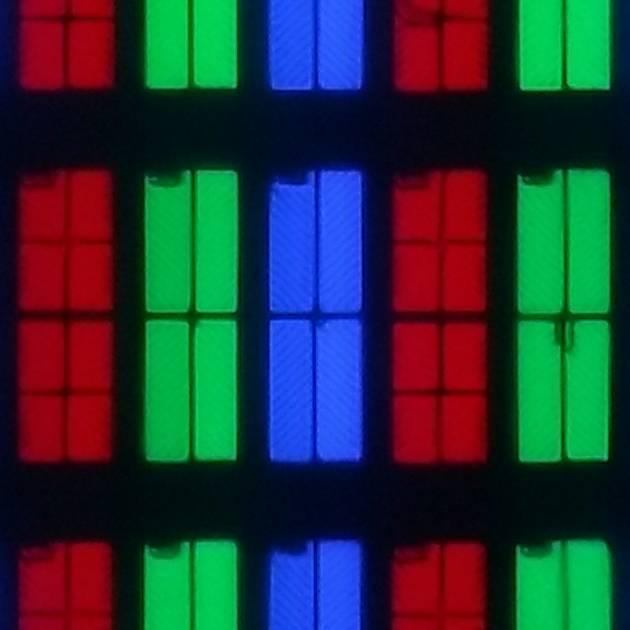 zdjęcie przedstawia układ pikseli w matrycy philipsa 50pus8804