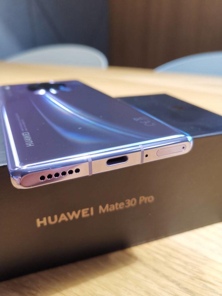 Huawei Mate 30 Pro złącze USB-C