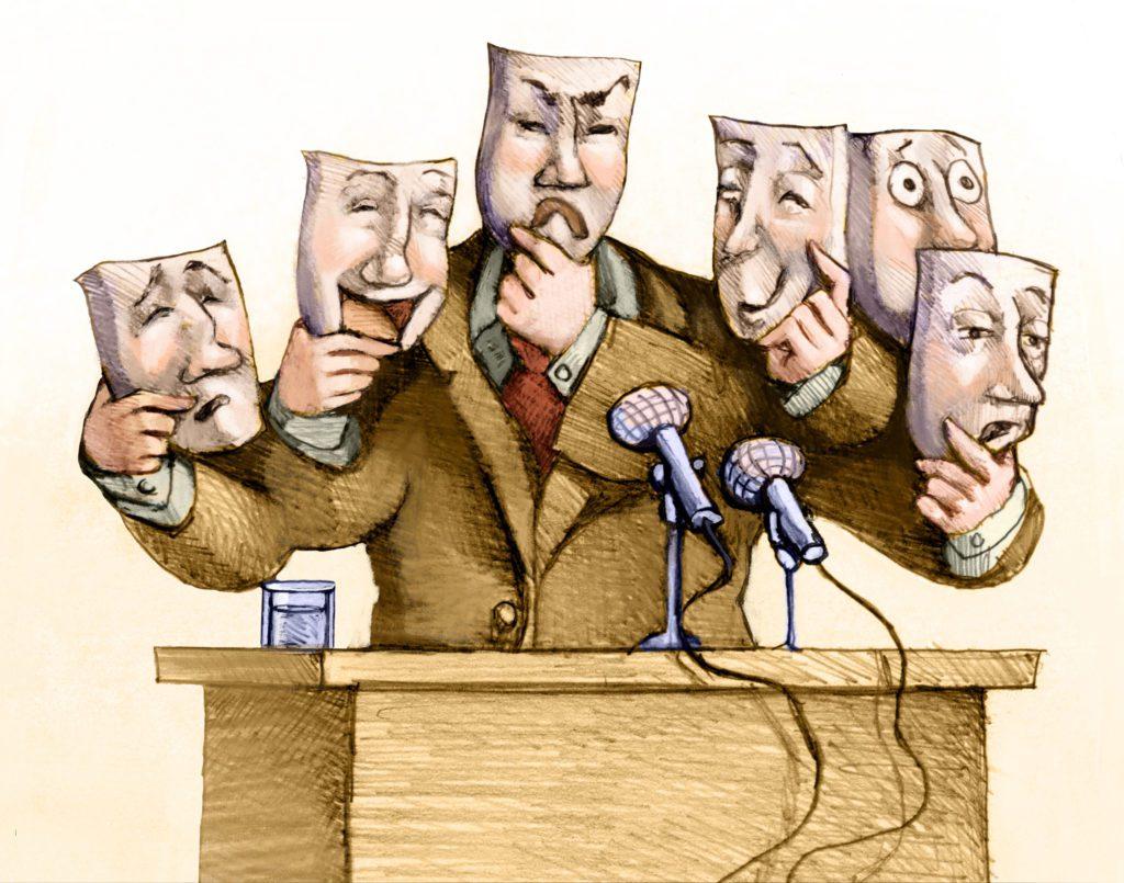 Wiele twarzy polityki