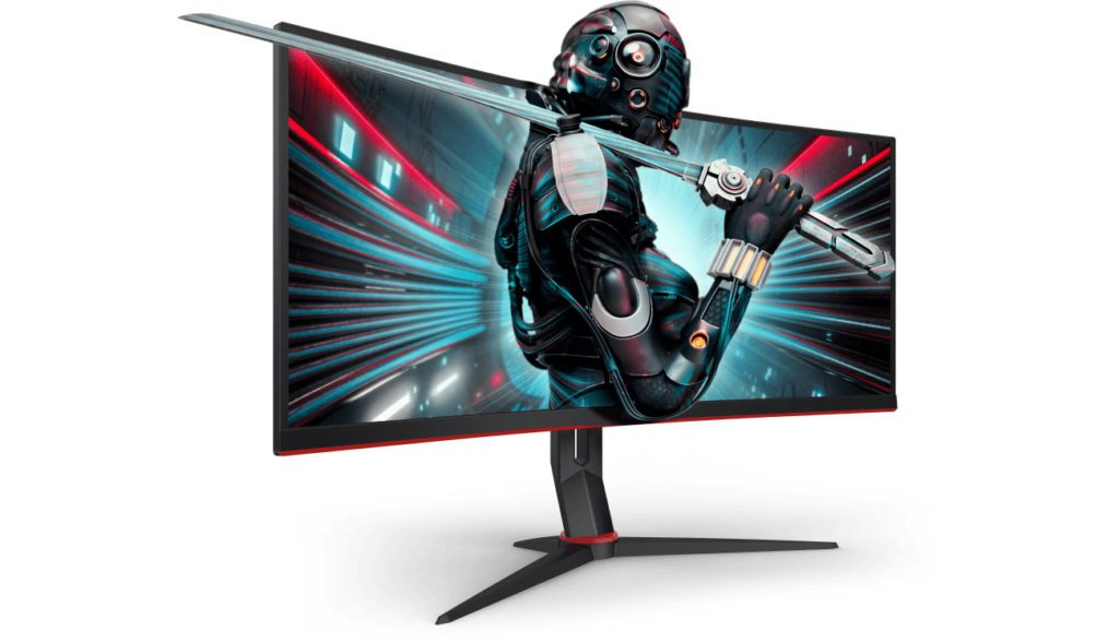 krzywy monitor - gaming Geex jak wybrać
