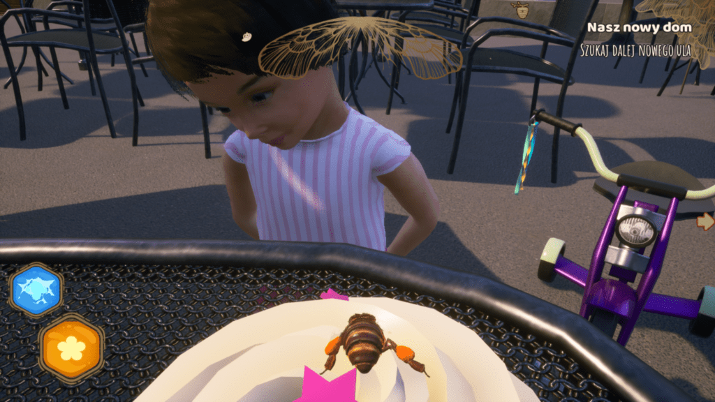 Bee Simulator screen z gry
