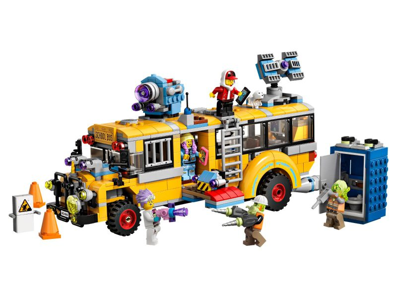 LEGO Hidden Side Autobus Duchozwalczacz 3000