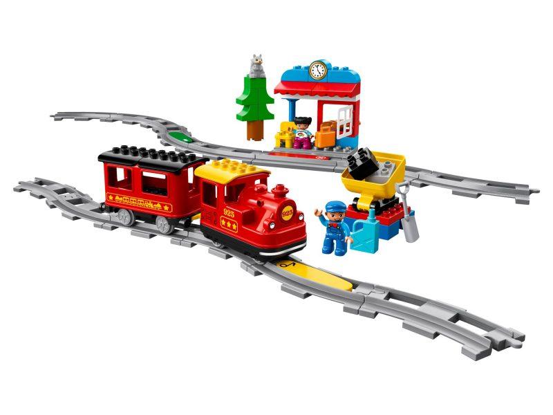 LEGO DUPLO Pociąg parowy geex