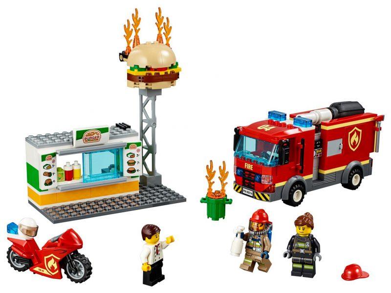 LEGO na ratunek w płonącym barze
