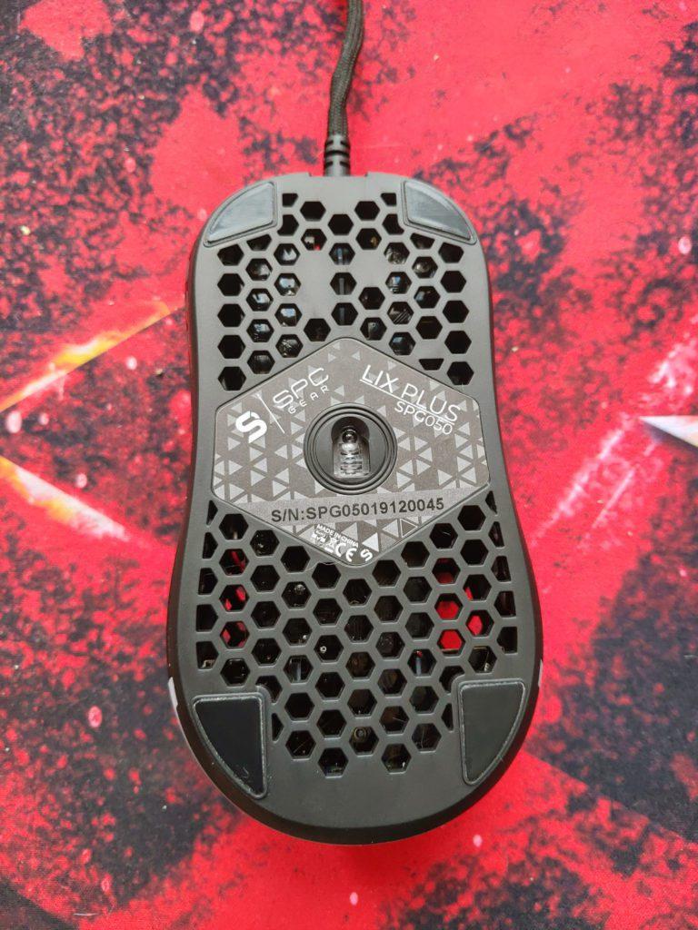 SPC Gear LIX i LIX Plus dół myszki
