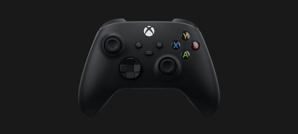 Xbox series X pad z przodu