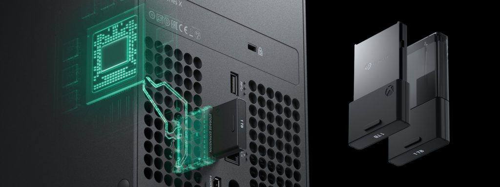 Xbox series X wymienne dyski konsoli