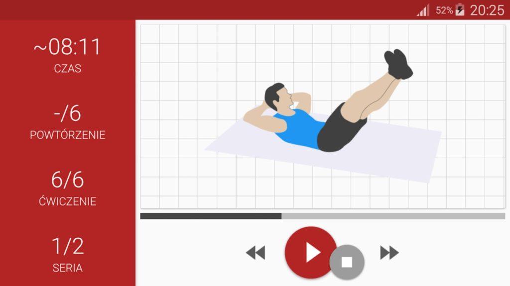 aplikacja - aerobiczna szóstka weidera