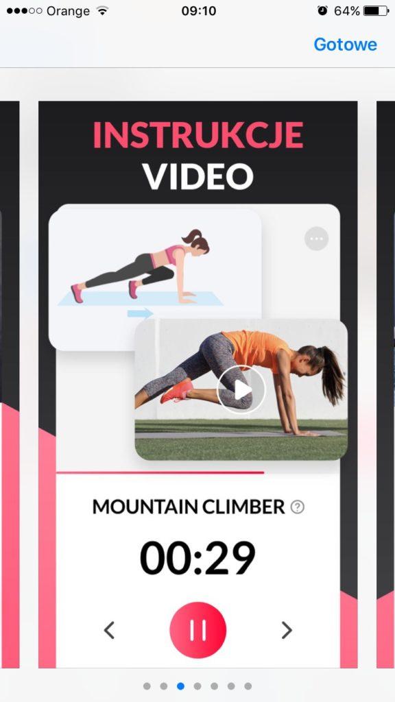 aplikacja z ćwiczeniami dla kobiet