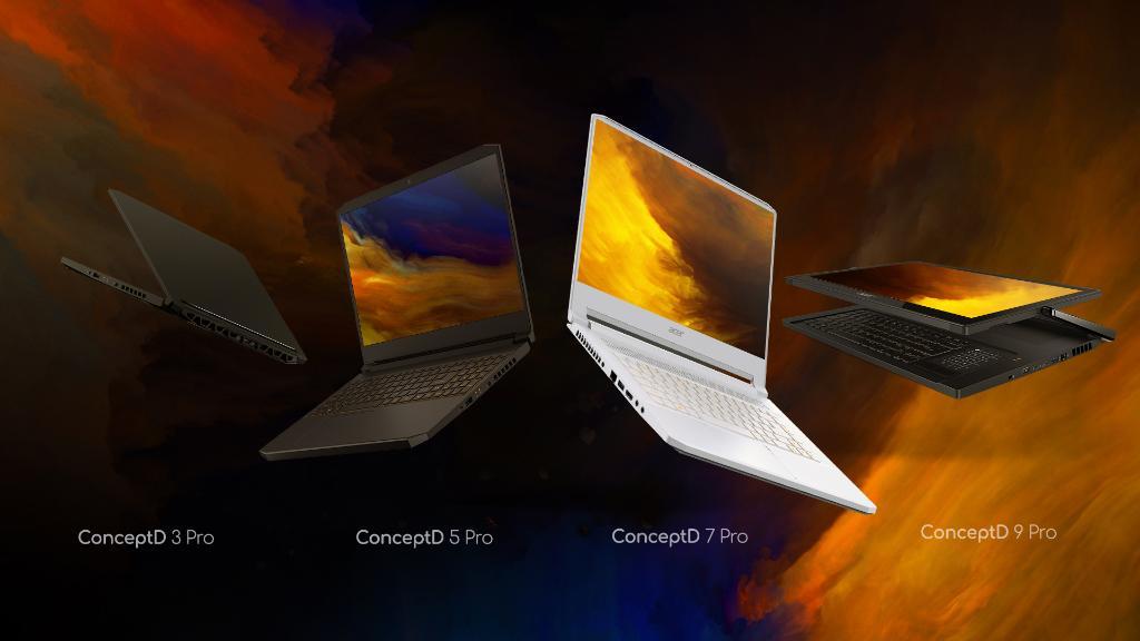 Acer ConceptD seria produktów