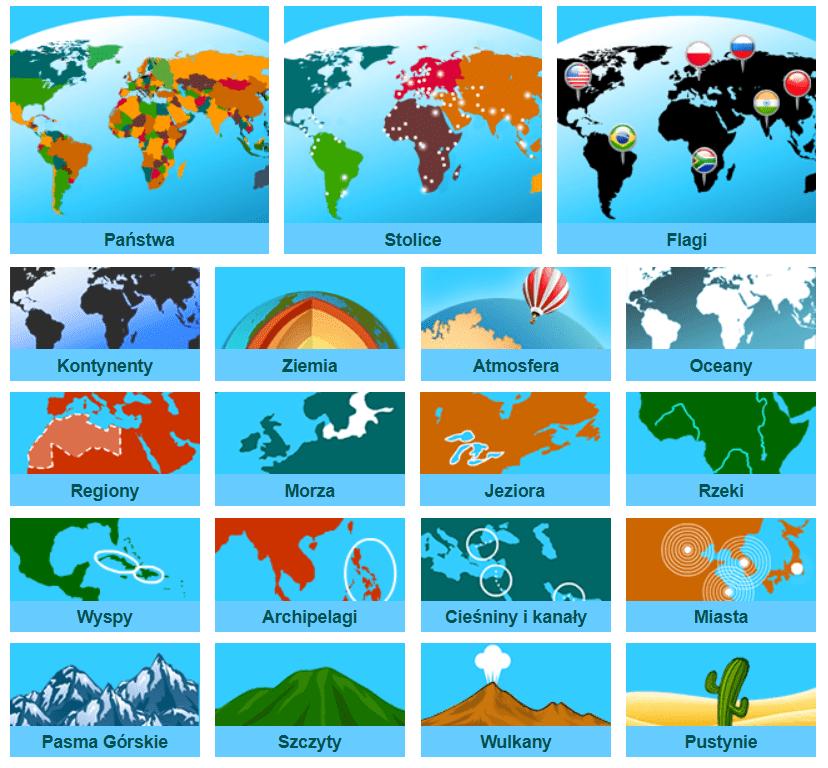 gry geograficzne