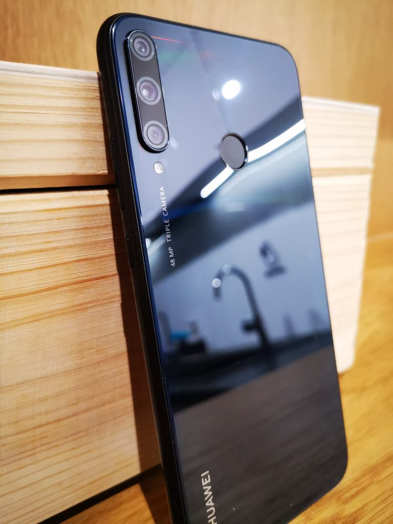Huawei P40 Lite E skaner linii papilarnych