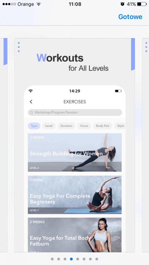 joga - aplikacja