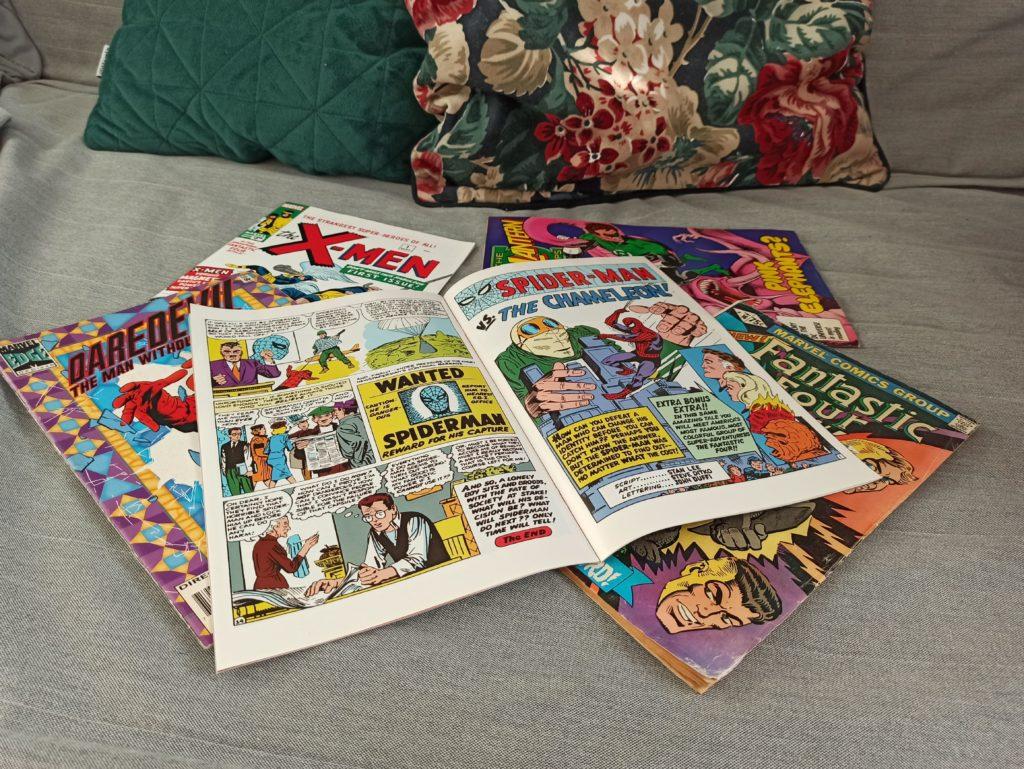 komiksy na czas wolny