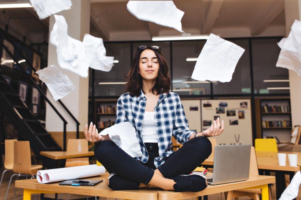 medytacja uspokojenie