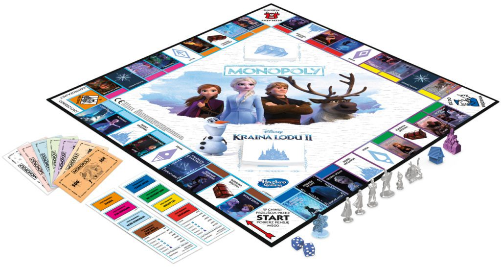 Hasbro Monopoly Frozen 2 dla ucznia geex