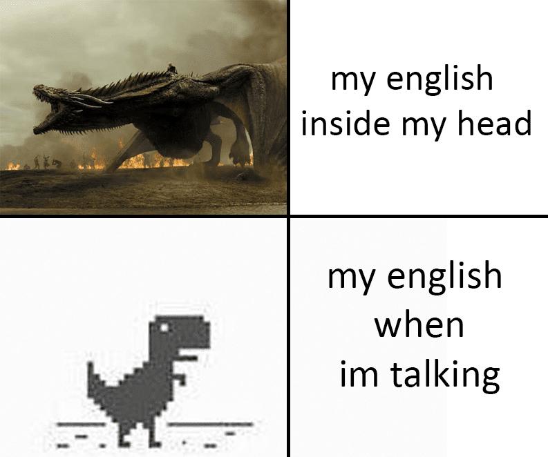 my English skills