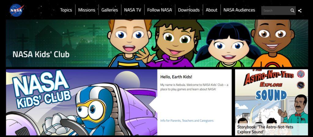NASA dla dzieci