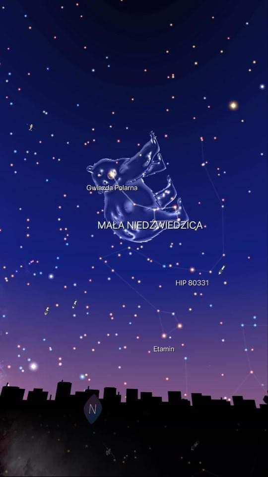 aplikacja night sky